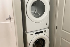 Laundry in unit at Gateway