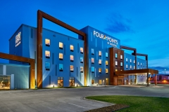 Exterior at Four Points by Sheraton - Fargo ND - EPIC Companies