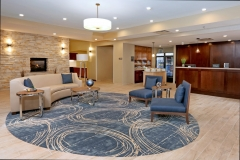 Lobby at Homewood Suites by Hilton - West Fargo - EPIC Companies