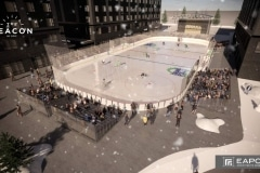 The Beacon Ice Rink Rendering