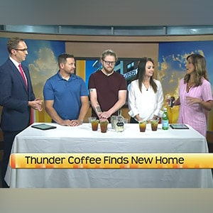 North Dakota Today - Thunder Coffee Finds New Home in Pioneer Center in West Fargo