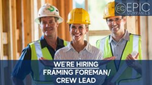 Now Hiring Crew Lead - Newsletter Size